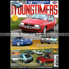 YOUNGTIMERS N°24 ALFA 75 EBS R5 GT TURBO PORSCHE 911 3.6 RS TYPE 964 AXEL 12 TRS
