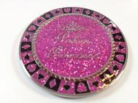 Poker Princess Sparkling and Shiny Heavy Poker Card Guard Hand Protector NEW
