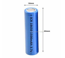 Rechargeable Battery Rechargeable Lithium LI-ION Icr 1500 MAH 15c 3,7v 18650