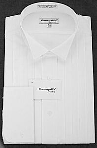 100% High Quality Cotton. Wing Collar Tuxedo Shirts.