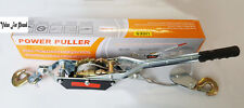4 ton Cable Puller Pulling Hand Power Winch Hoist Turfer Trailer Car Tool
