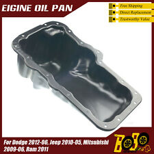 Engine Oil Pan for  Dodge 2012-06, Jeep 2010-05, Mitsubishi 2009-06, Ram 2011