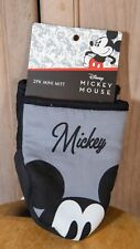 Disney Cotton Mini Oven Mitts/Glove w/Neoprene, Gray, Mickey Mouse Gloves