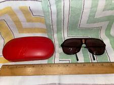 Porsche Carrera Vintage bifocal sunglasses red case sport Car Collector Gift