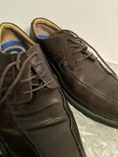 Nunn BushMens Oxford Shoes Size 13 Brown Nubuck Leather Lace Up TX Traction