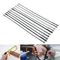10 Pcs Mini Multifunctional Magic Scroll Saw Blades Set Manual Woodworking 150mm