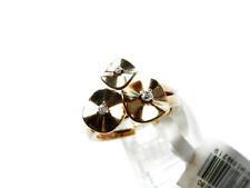 Pierre Cardin señora-ring 925 Sterling plata rhodiniert dorado circonita