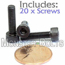(20) M4 x 16mm - Socket Head Caps Screws 12.9 Alloy Steel DIN 912 Coarse 0.7 4mm