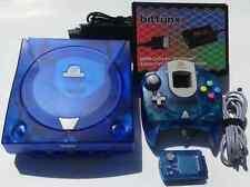 Ultimate MODDED Blue Sega Dreamcast GDEMU, Noctua Fan, HDMI, SD Card and More
