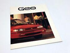 1990 Geo Prizm Brochure
