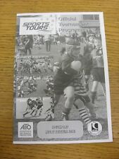 05/05/2012 Rugby Union programme: SPORTS Tours-Southport Festival [at southpor