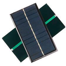Panel Solar 6V 1W DIY Célula Fotovoltáica Robótica Arduino Cargador Móvil