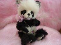 OOAK / ARTIST Precious the baby Panda - By Ladybug Bears