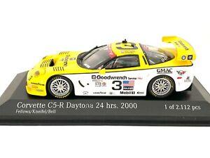 Ltd Ed 1:43 scale Action Chevrolet Corvette C5-R 2000 Daytona Sports Car Model