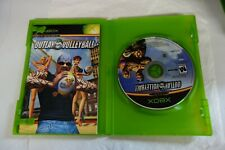 XBOX  OUTLAW VOLLEYBALL  GAME AND BOOKLET