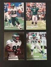 1999 Topps Stadium Club Philadelphia Eagles Team Set 4 Cards Donovan McNabb RC