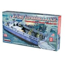 Lindberg 70866 d-day invasion L.C.V.P model kit 1/32 scale new boxed-T/48 post