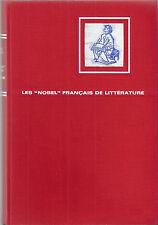 Michel Dansel Les Nobel français de littérature 1967 Prix Romancier Ecrivain