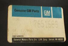 1967 Pontiac NOS OEM GTO, Lemans, Tempest  Rear Tail-lamp panel Rear Body Panel