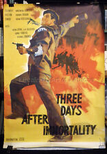 THREE DAYS AFTER THE IMMORTALITY (Трое суток после бессмертия) Affiche cinema