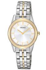 Seiko SFQ824 SFQ824P1 Ladies Watch Two Tone WR50m NEW RRP $595.00