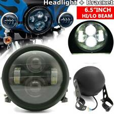 "6.5"" inch LED Headlight Lamp Sealed Hi-Lo Beam For Motorcycle 35W AU"