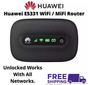 Huawei E5331 Mobile Broadband 3G WiFi MiFi Router Dongle Device SIMFree Unlocked