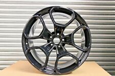 "1 Genuine FEO Lamborghini Huracan LP610 Giano 20"" Alloy Wheel Rear Black 11J"