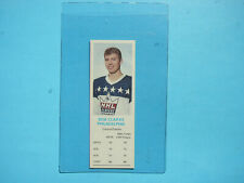 1970/71 DAD'S COOKIES NHL HOCKEY CARD BOBBY CLARKE ROOKIE NM SHARP+ DADS