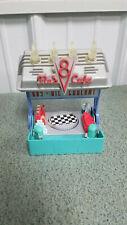 Disney Pixar Cars Flo's V8 Cafe and Gas Station Play Set  Mattel