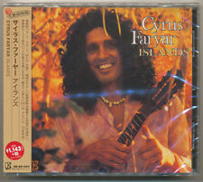 Cyrus Faryar - Islands / Japan CD 2015 Remaster / Prog Folk 1973 / NEW! Sealed!