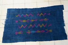 Altes Wickeltuch für Frauen Baumwolle CF78 Indigo Dogon Old Cloth Tissu
