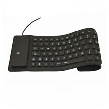 USB Silicone Foldable Keyboard  Flexible with Numeric For Laptop PC Desktop