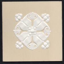 Original ca1900 German jugendstil Villeroy & Boch Art Nouveau Majolica tile II