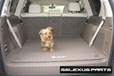 Lexus GX460 (2010-2017) ALL WEATHER RUBBER CARGO MAT (Brown) OEM PT908-60102-40