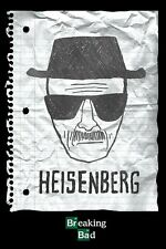 Cartel BREAKING BAD-HEISENBERG DIBUJO-Póster de la serie de TV
