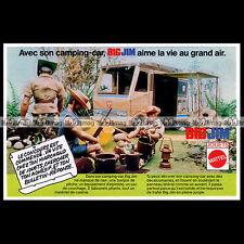 Mattel BIG JIM 'Sports Camper' 1976 Pub Publicité Vintage Action Figure Ad #B180