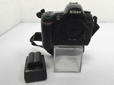 Nikon D70s 6.1MP Digital SLR Camera - Black With Charger & Battery
