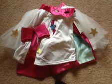 POTTERY BARN KIDS SUPER HERO AMAZING GIRL HALLOWEEN COSTUME 4-6 NEW WITH TAG