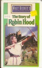 Walt Disney's The Story of Robin Hood and His Merrie Men (1952) Disney ~ VHS