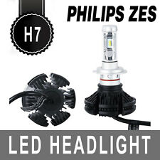 100W 12000LM LED Car Headlight Kits Philips Beam Replace Bulbs Turbo H7 6500K