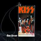 1977 KISS Transistor AM Radio - Vintage Aucoin  w/ Strap & Battery Lid