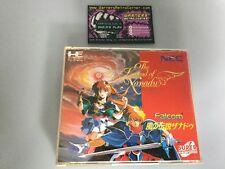 LEGEND OF XANADU PC ENGINE CD Rom JP JAPON Coffret Good Cond
