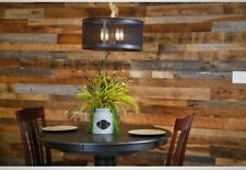 Multi Color Kiln Dried Barnwood Kit Reclaimed American Barn Wood Planks Decor