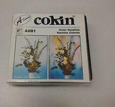 FILTRE COKIN A081 Color Vaseline Série A --  Effet : Vaseline Colorée Neuf