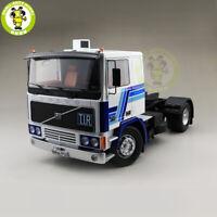 1/18 ROAD KINGS KK Volvo F1220 Tractor Truck 1977 Diecast Car Model White Blue