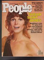 People Magazine Susan Saint James Ted Turner September 12 1977  Free S/H