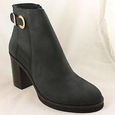 """Zip Block Heel Ankle Boots for Women """" OFFICE"""