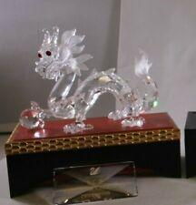 Swarovski Scs 1997 Dragon Trilogy Fabulous Creatures Nib W Stands