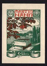 20)Nr.043- EXLIBRIS- Hermann Hirzel, 1900